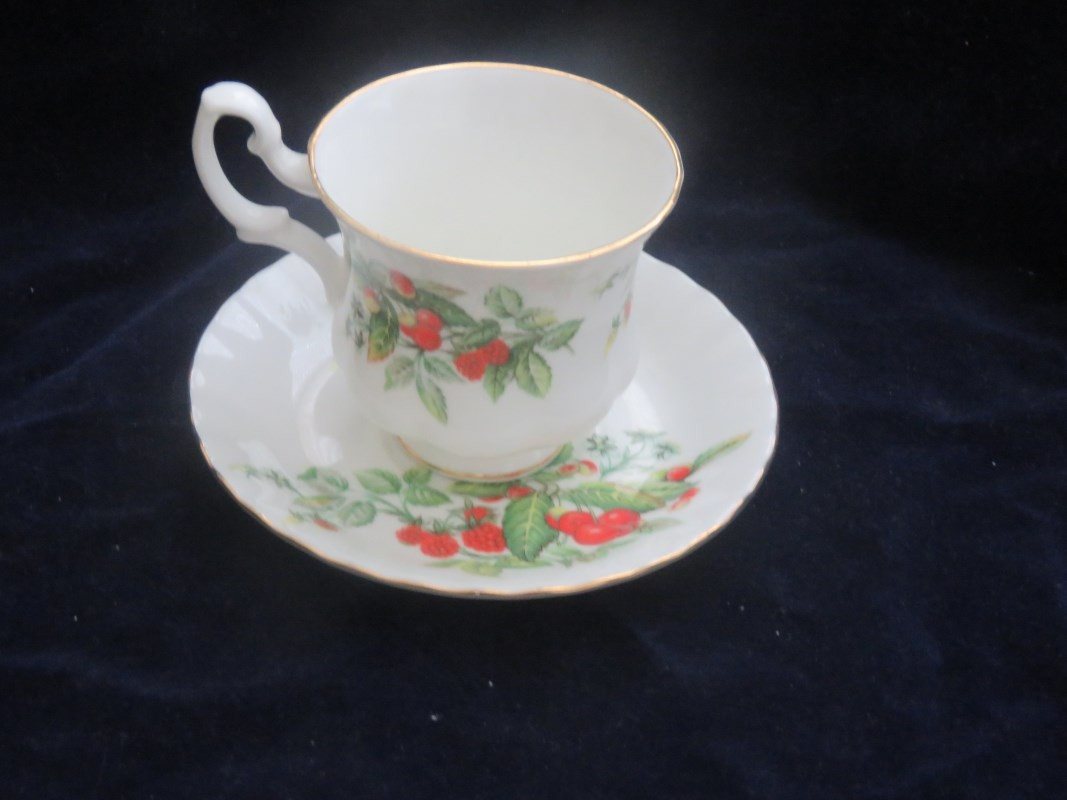Royal Albert Cup and Saucer Carolina China Collectibles